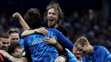 Модрич прокомментировал победу над Англией
