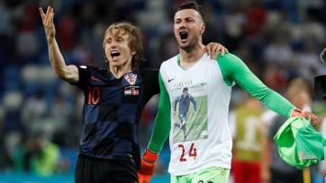 Голкипер сборной Хорватии не совершил ни одного сэйва в полуфинале Чемпионата мира