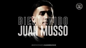 Официально: Хуан Муссо – футболист «Удинезе»