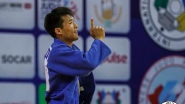 Казахстанский дзюдоист завоевал серебренную медаль на Кубке Европы