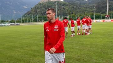 Ташаев открыл счёт своим голам за «Спартак»