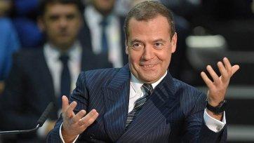 Премьер-министр России подвел итоги Чемпионата мира