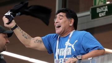 Марадона прокомментировал победу Франции на ЧМ