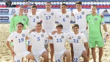 Казахстанская сборная по пляжному футболу снова порадовала победой