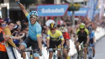 Гонщику «Астаны» удалось победить в 14-м этапе «Тур де Франс»