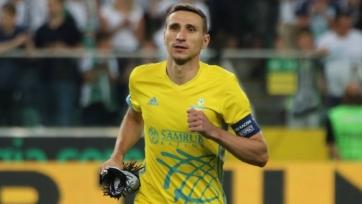 Лидер «Астаны» провел 200-й матч за клуб