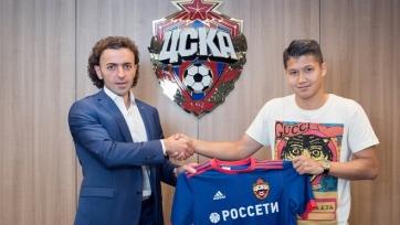 Официально: Ахметов перешёл в ЦСКА