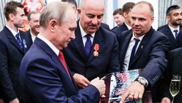 Черчесов: «В морально-эмоциональном плане Россия - точно чемпион мира»