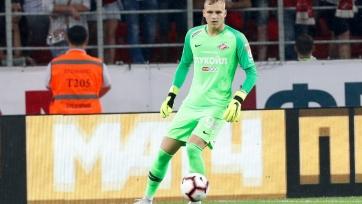 Максименко готов стать основным кипером «Спартака»
