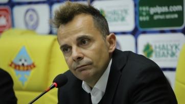Тренер «Кайрата» рассказал, чем заняты мысли его футболистов