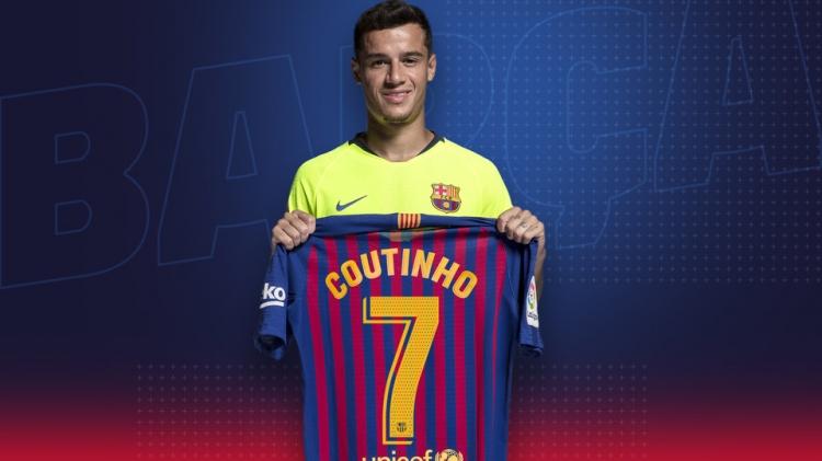 Филиппе Коутиньо сменил игровой номер в «Барселоне» (фото)