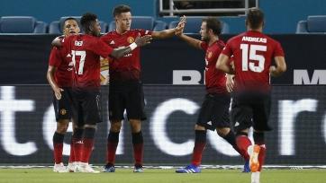 «Манчестер Юнайтед» одержал первую победу на Международном Кубке чемпионов