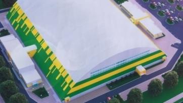 В Костанае заканчивается строительство уникального стадиона