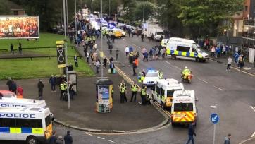 Два человека получили ножевые ранения в массовой драке фанатов «Рейнджерс» и «Осиека»