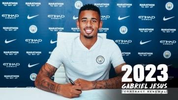 Официально: Жезус продлил контракт с «Манчестер Сити»