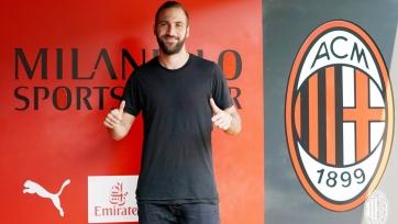 Игуаин прокомментировал свой переход в «Милан»