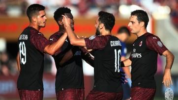 «Милан» выиграл у «Барселоны» в Кубке чемпионов