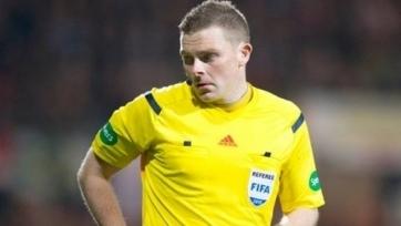 Шотландский рефери будет судить матч «Астана» - «Динамо Загреб»