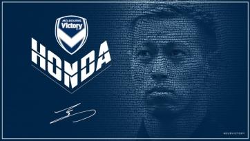 Официально: Хонда – игрок «Мельбурна»