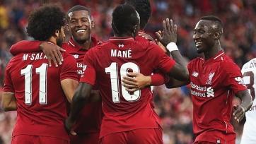 «Ливерпуль» торжествует в игре с «Торино»