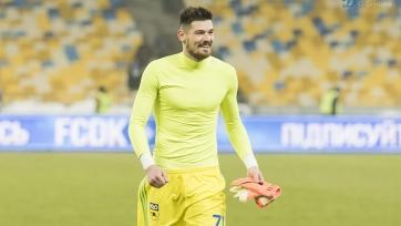 Во время игры со «Славией» Дениса Бойко укусила оса