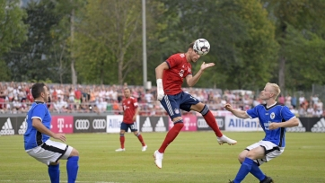 «Бавария» наколотила 20 мячей в ворота любительской команды