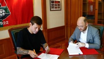Официально: Смолов перешёл в «Локомотив»