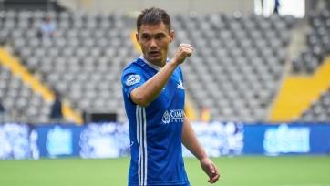 Мужиков достиг отметки в 150 матчей за «Астану»