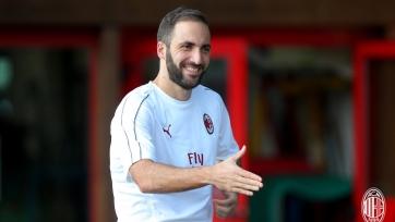 «Милан» доволен физическим состоянием Игуаина