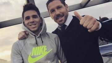 Симеоне не хочет, чтобы его сын переходил в «Атлетико»