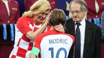 Стала известна новая зарплата Модрича в «Реале»