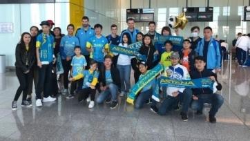«Астана» отправилась в Хорватию