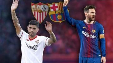 «Севилья»  - «Барселона». Стартовые составы