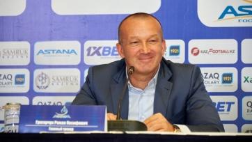 Главный тренер «Астаны» высказал свое мнение о невезении в первом матче с «Динамо»