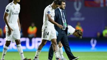 Каземиро получил травму в матче за Суперкубок
