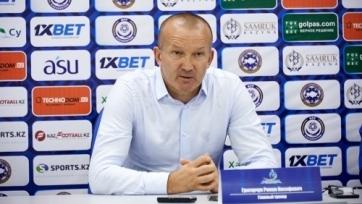 Временно «Астана» осталась без тренера