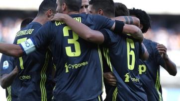 «Ювентус» вырвал победу над «Кьево»
