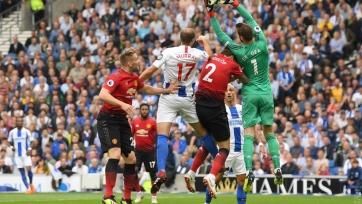 «Манчестер Юнайтед» на выезде проиграл «Брайтону»