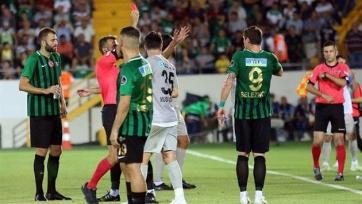 Селезнёв опозорился в матче чемпионата Турции