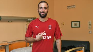 Источник: Игуаин стал одним из лидеров в раздевалке «Милана»