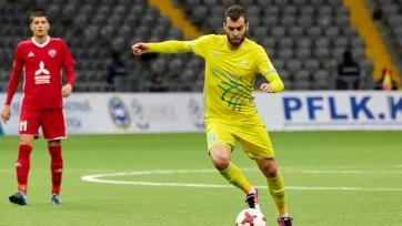 Защитник «Астаны» готов сыграть в завтрашнем матче Лиги Европы