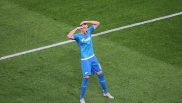«Зенит» добыл волевую победу в матче с «Мольде»