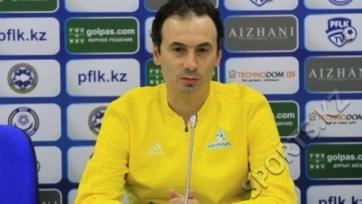 Тренер «Астаны» уверен в позитивном исходе противостояния