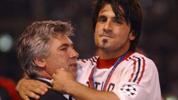 Сегодня Гаттузо и Анчелотти впервые встретятся друг против друга в качестве тренеров