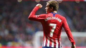 «Атлетико» переиграл «Райо» благодаря голу Гризманна