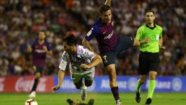 «Барселона» минимально обыграла «Вальядолид»