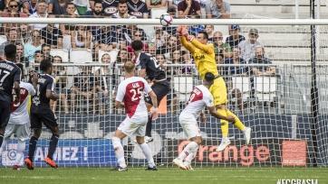 «Бордо» вырвал победу в матче с «Монако»