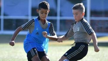 Роналду-младший начал тренировки и получил прозвище в «Ювентусе»