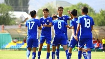 Сборная Казахстана U-16 победила сверстников из Кыргызстана
