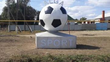 В Актюбинской области поставили памятник футбольному мячу